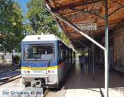 Het treintje van Diakofto naar Kalavrita Peloponnesos